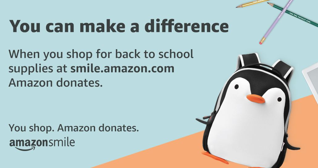 Amazon Smile Back to School