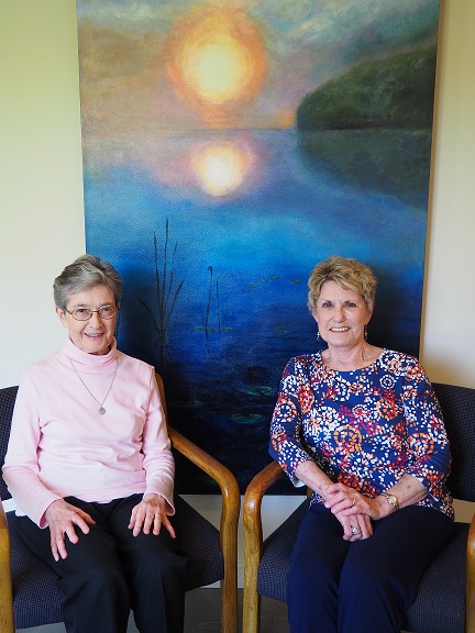 Karen Fleming and Sister Margaret Kramer