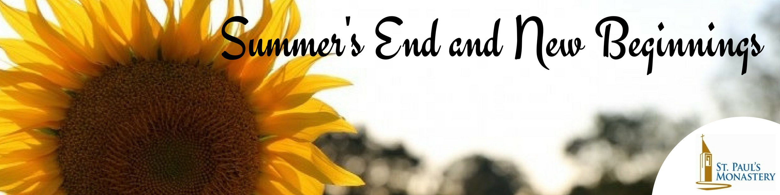 Header - Summer's End and New Beginnings
